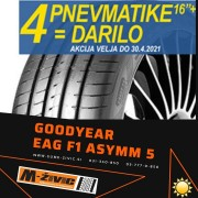 GOODYEAR EAGLE F1 (ASYMMETRIC) 5 225/55/R17 97V