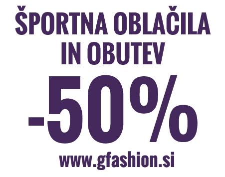 GFashion.si - udoben svet nakupov športne mode